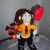 Куклы и игрушки ручной работы. Ярмарка Мастеров - ручная работа О,Боже какой мужчина..... Handmade.