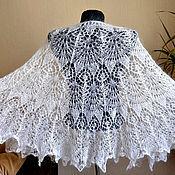 Аксессуары handmade. Livemaster - original item Downy shawl Freya. Handmade.