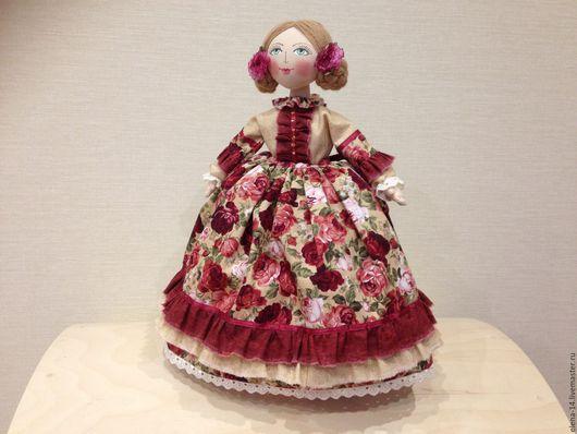 Быт ручной работы. Ярмарка Мастеров - ручная работа. Купить Кукла на чайник. Handmade. Кукла ручной работы, роспись по ткани