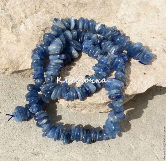 Для украшений ручной работы. Ярмарка Мастеров - ручная работа. Купить .Кианит крошка 10 см бусины камни для украшений. Handmade.