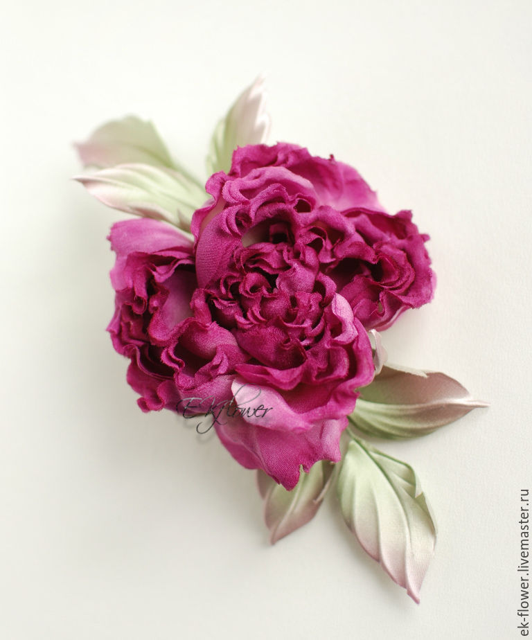 Fabric flowers silk flowers rose amalia shop online on silk flowers rose amalia mightylinksfo