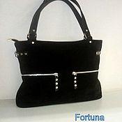 Сумки и аксессуары handmade. Livemaster - original item Classic bag: Leather bag
