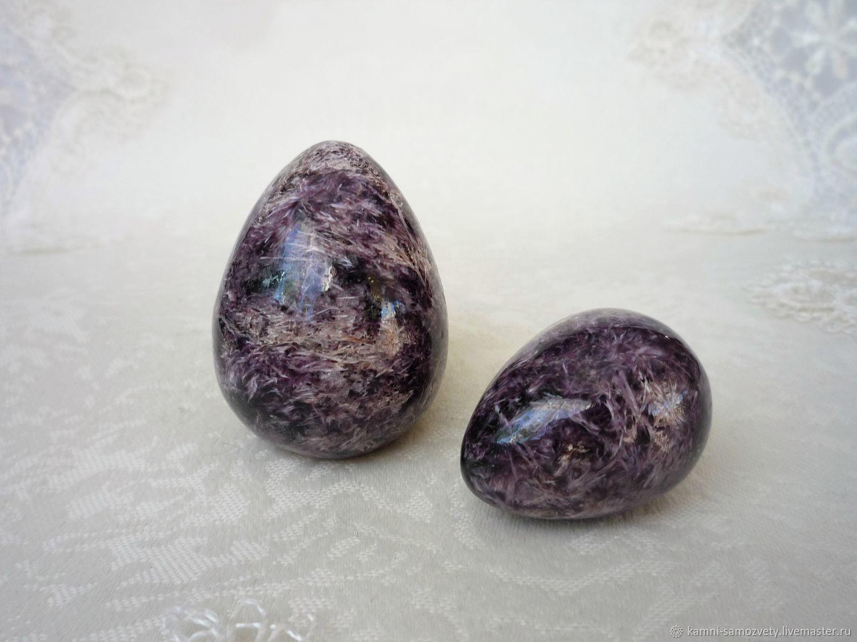 Яйцо из чароита, Яйца, Иркутск, Фото №1