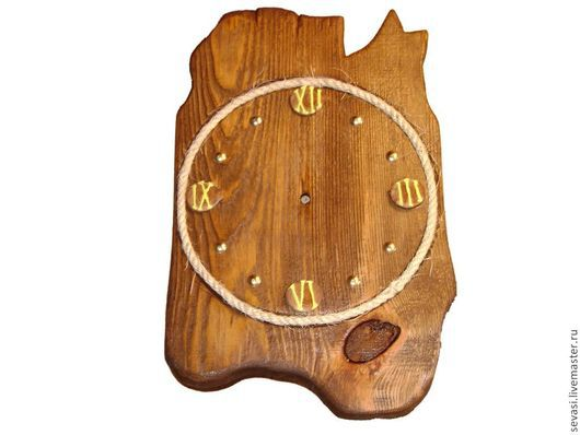 Часы для дома ручной работы. Ярмарка Мастеров - ручная работа. Купить Часы,полки,рамки и др. из состаренного массива. Handmade.