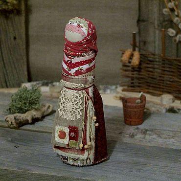 Куклы и игрушки ручной работы. Ярмарка Мастеров - ручная работа Кукла оберег на счастливое замужество Ягода-Малина.. Handmade.