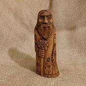 Русский стиль handmade. Livemaster - original item The Sorcerer, Old Man, Horse. home amulet. Good talisman. Handmade.