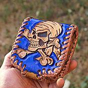 Сумки и аксессуары handmade. Livemaster - original item Leather wallet handmade