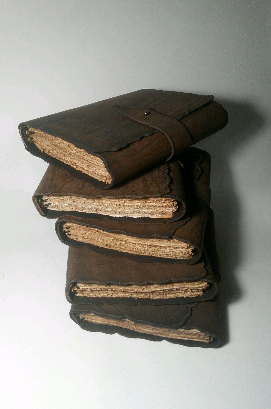 Записная книжка А5.Старинная книга.Кожаный блокнот.Блокнот под старину, Блокноты, Симферополь,  Фото №1