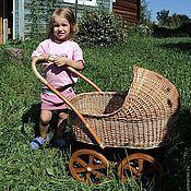 Куклы и игрушки ручной работы. Ярмарка Мастеров - ручная работа Коляска для куклы. Handmade.