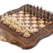Активный отдых и развлечения handmade. Livemaster - original item Chess-checkers-backgammon handmade