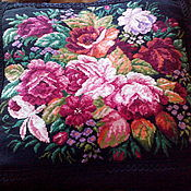 Для дома и интерьера handmade. Livemaster - original item pillow decorative embroidered cushion,