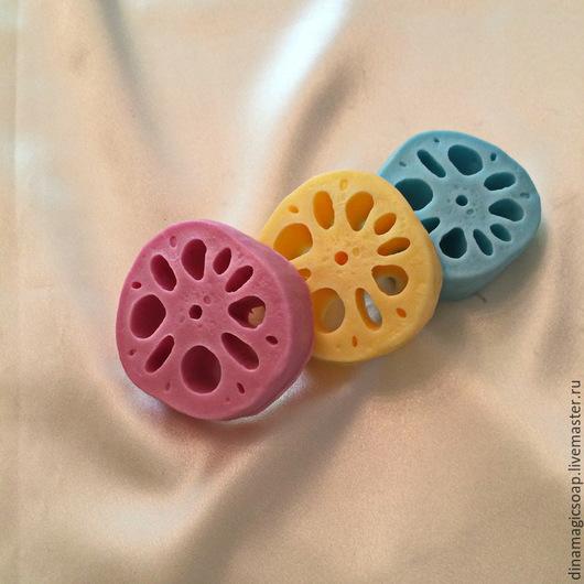 Мыло ручной работы. Ярмарка Мастеров - ручная работа. Купить мыло Корень лотоса. Handmade. Разноцветный, мыло ручной работы