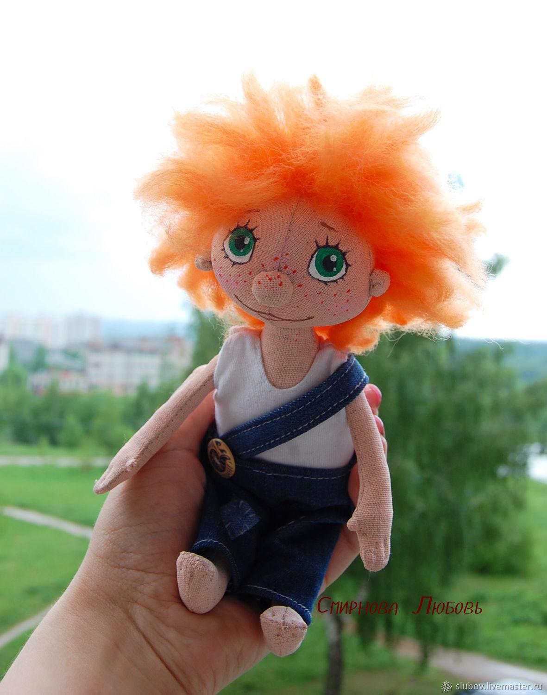 Антошка. Текстильная кукла, Тыквоголовка, Кострома,  Фото №1