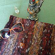 """Одежда ручной работы. Ярмарка Мастеров - ручная работа Снуд и шапочка для мужчин """"Вrown"""". Handmade."""