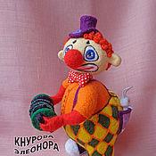 Куклы и игрушки ручной работы. Ярмарка Мастеров - ручная работа Клоун Жора. Handmade.