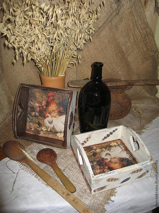 """Кухня ручной работы. Ярмарка Мастеров - ручная работа. Купить Короб-хлебница """"Сельская"""". Handmade. Хлебница, кухня Прованс, Пасха"""