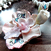 Украшения ручной работы. Ярмарка Мастеров - ручная работа Орхидея. Ремесла. Handmade.