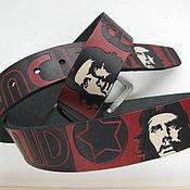 Аксессуары handmade. Livemaster - original item strap leather