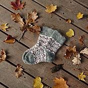 Аксессуары handmade. Livemaster - original item The baby socks, teen downy. Handmade.