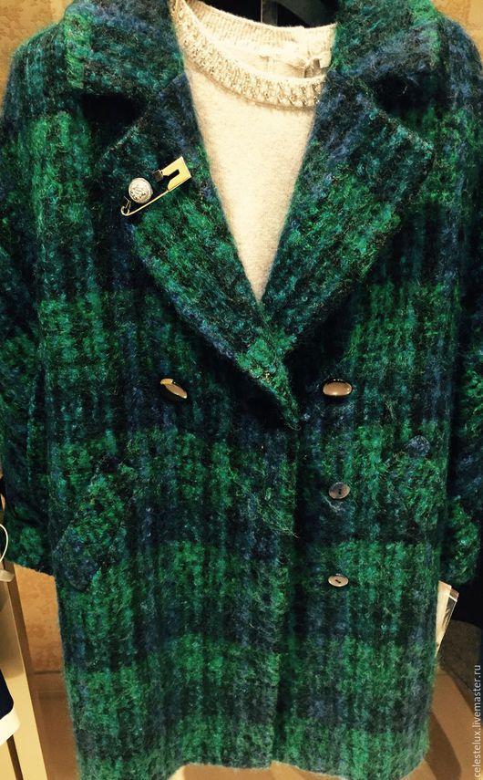 Верхняя одежда ручной работы. Ярмарка Мастеров - ручная работа. Купить Пальто из мохера. Handmade. Купить спб, пальто на зиму
