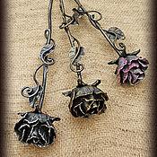 Для дома и интерьера ручной работы. Ярмарка Мастеров - ручная работа Каминная кованая роза. Handmade.