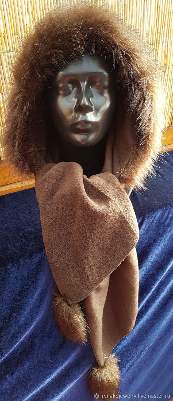 Scarf Hood.шарф капюшон, Капюшоны, Друскининкай,  Фото №1