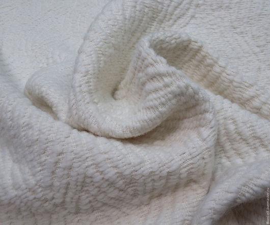 Шитье ручной работы. Ярмарка Мастеров - ручная работа. Купить Ткань Шанель пальтовая. Handmade. Комбинированный, шерстяная ткань