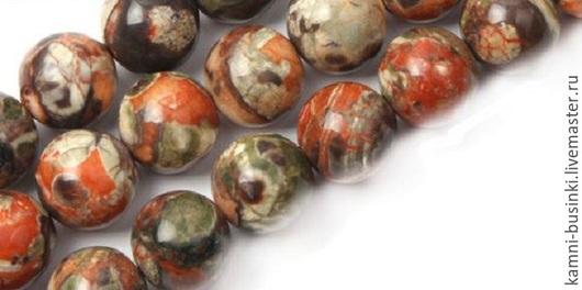 Африканский агат 10-16мм бусина шар разноцветный. Бусины агата для колье, агат бусины для браслетов, агат бусина шар для серег.