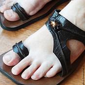 """Обувь ручной работы. Ярмарка Мастеров - ручная работа Кожаные сандалии """"Sandy Love"""". Handmade."""