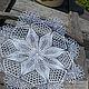 Decorative napkins: Napkin 'Mac', Doilies, Vologda,  Фото №1