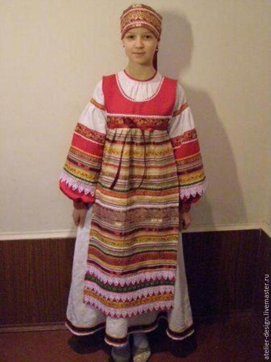 Одежда ручной работы. Ярмарка Мастеров - ручная работа. Купить Фольклорный костюм. Handmade. Фольклерный костюм, русский костюм, красивый