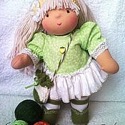Куклы и игрушки ручной работы. Ярмарка Мастеров - ручная работа Травинка, 33см. Handmade.