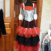 Одежда ручной работы. Ярмарка Мастеров - ручная работа платье в испанском стиле. Handmade.