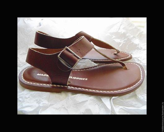 Винтажная обувь. Ярмарка Мастеров - ручная работа. Купить Винтажные новые Вудсток Хиппи Гладиаторы размер 36.. Handmade.