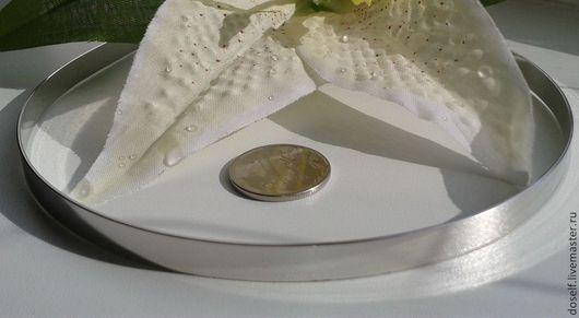 Для украшений ручной работы. Ярмарка Мастеров - ручная работа. Купить Основа для ободка шир.7мм цвет серебро. Handmade.