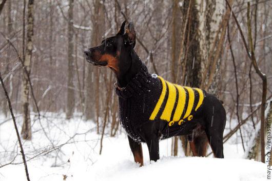 Одежда для собак, ручной работы. Ярмарка Мастеров - ручная работа. Купить Одежда для собак крупных и средних пород. Свитера. Handmade.