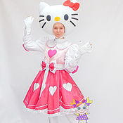 Одежда handmade. Livemaster - original item Hello Kitty. Scenic suit/Cosplay/Carnival costume. Handmade.