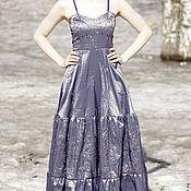 Одежда ручной работы. Ярмарка Мастеров - ручная работа Платье № 16 Парча. Handmade.