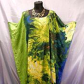 Одежда ручной работы. Ярмарка Мастеров - ручная работа Оливковое пляжное платье. Handmade.