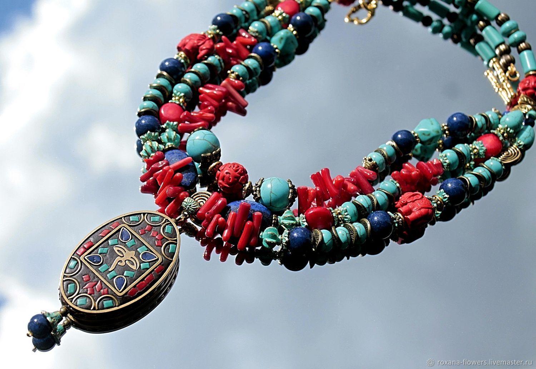 Arabesque - necklaces surround Oriental large pendant, Necklace, Khimki,  Фото №1