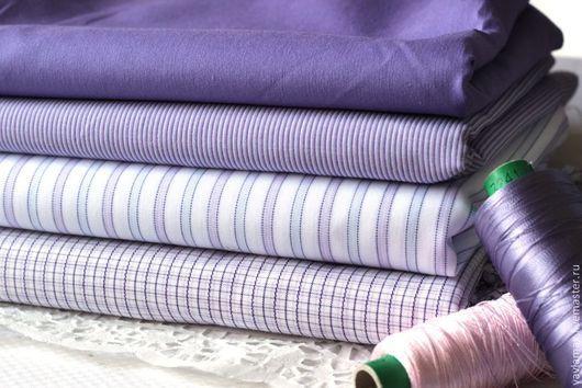 """Шитье ручной работы. Ярмарка Мастеров - ручная работа. Купить Набор тканей  для рукоделия """"Сиреневый"""". Handmade. Ткань для рукоделия, ткань"""