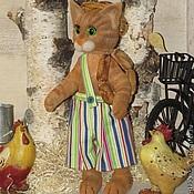 Куклы и игрушки ручной работы. Ярмарка Мастеров - ручная работа Котенок по имени Финдус. Handmade.