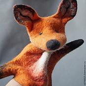 Куклы и игрушки handmade. Livemaster - original item Fox. Glove puppet. Bi-BA-Bo.. Handmade.