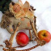 Куклы и игрушки ручной работы. Ярмарка Мастеров - ручная работа Ангел сплюшка - жеребушка и текстильная лошадка. Handmade.