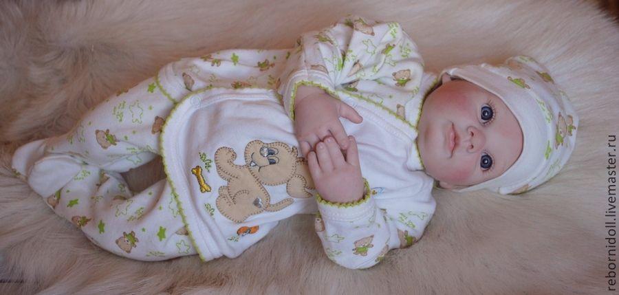 Кукла реборн Машуня, Куклы Reborn, Севастополь,  Фото №1