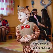 Одежда handmade. Livemaster - original item Teddy bear costume Christmas carnival for boy brown bear Misha. Handmade.