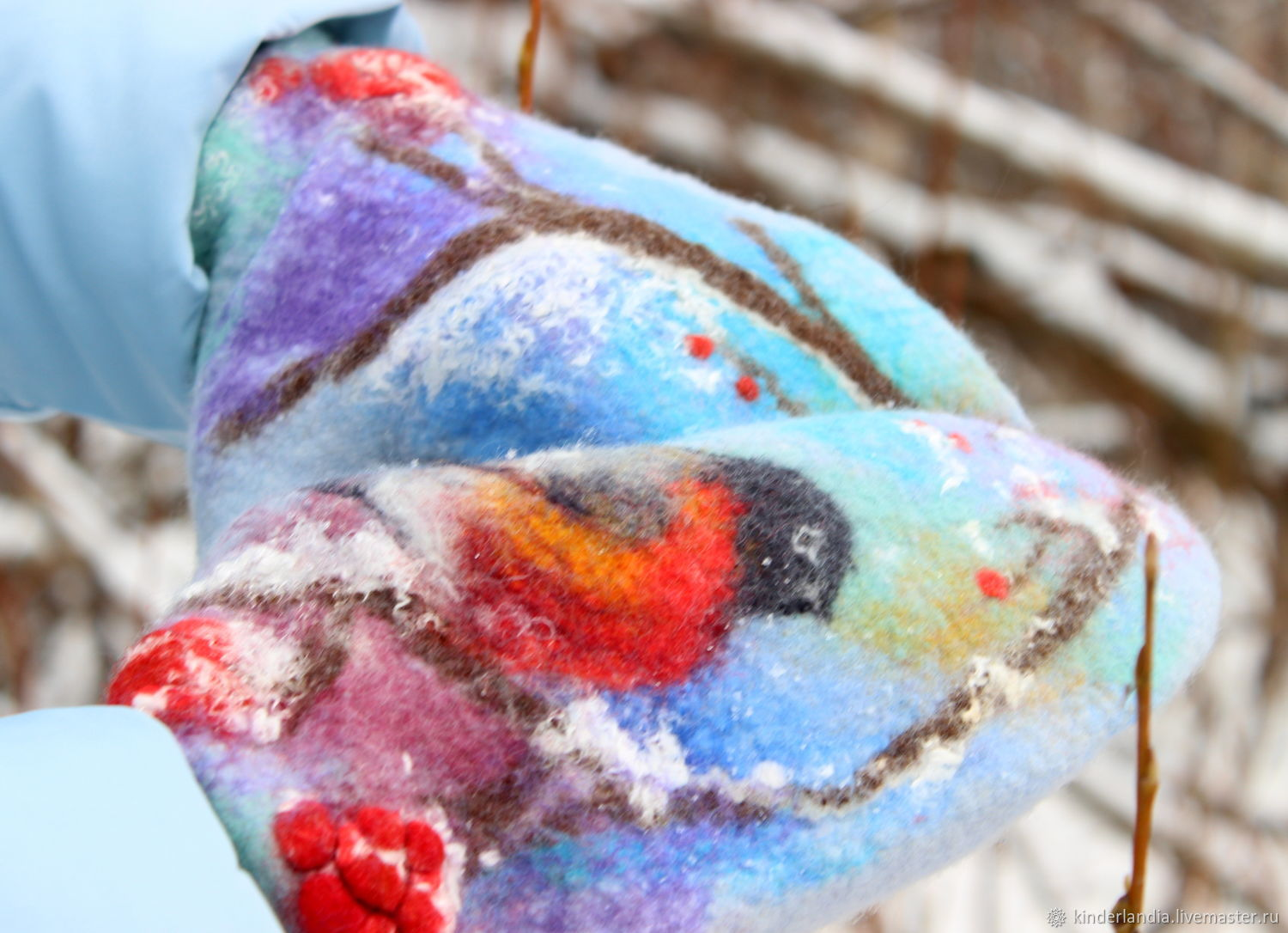 Video tutorial painting with wool wet felting mittens shop teaching materials handmade livemaster handmade buy video tutorial painting with wool wet baditri Images