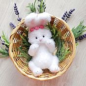 Материалы для творчества handmade. Livemaster - original item Master class on crochet bunnies. Handmade.