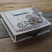 """Открытки ручной работы. Ярмарка Мастеров - ручная работа Коробочка для денег """"С Любовью"""". Handmade."""