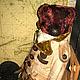 Мишки Тедди ручной работы. Ярмарка Мастеров - ручная работа. Купить КАПИТАН. Handmade. Бордовый, Алёна Жиренкина
